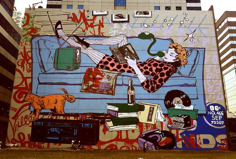 9 best street art cities in southeast asia freme travel for Bonifacio mural